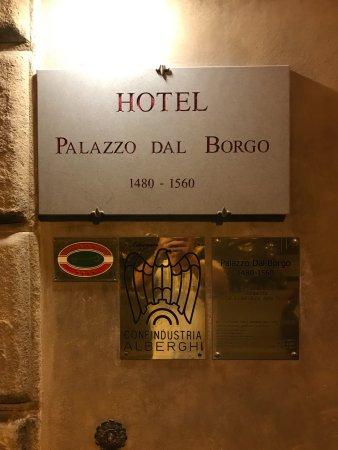 Palazzo dal Borgo Hotel Aprile : Old Historic Hotel.