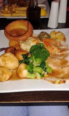 Beaminster, UK: Lovely Sunday lunch