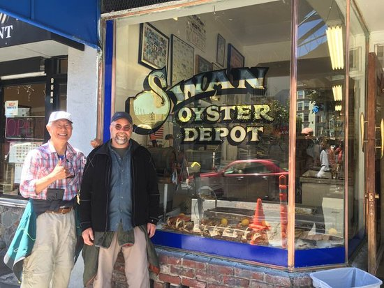 Photo of Swan Oyster Depot in San Francisco, CA, US