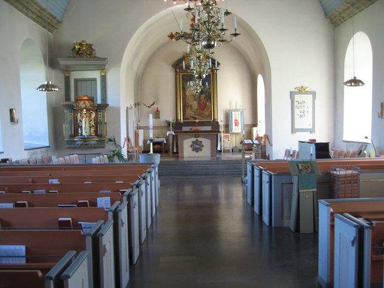 Morbylanga, Sweden: Kyrkjeskipet