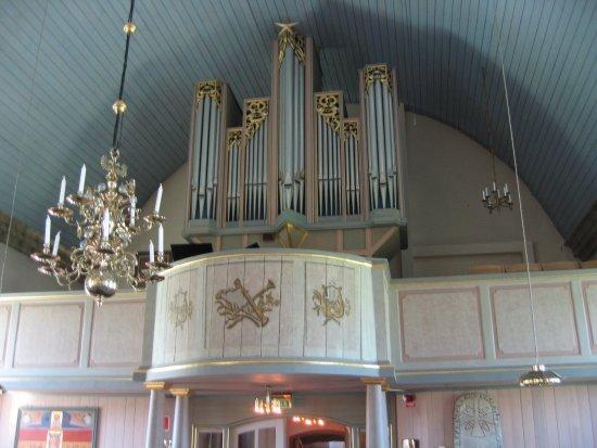 Morbylanga, Suède : Orgelet