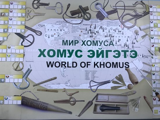 Museum and Center of The Khomus of The People of The World