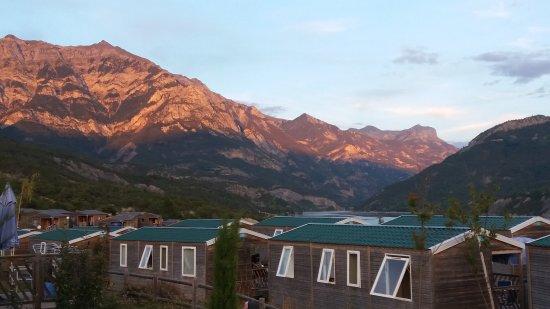 Le Sauze, France : Camping Les Berges du Lac