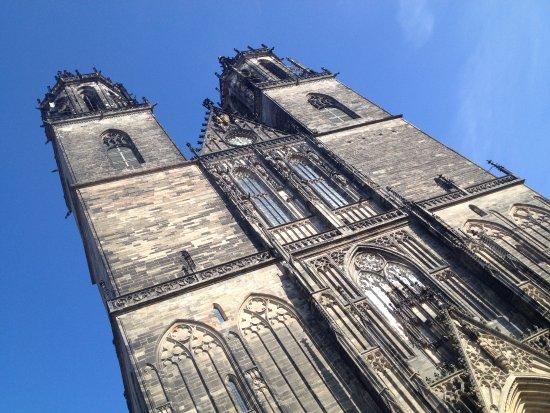 Barleben, Germany: kerk in Magdeburg