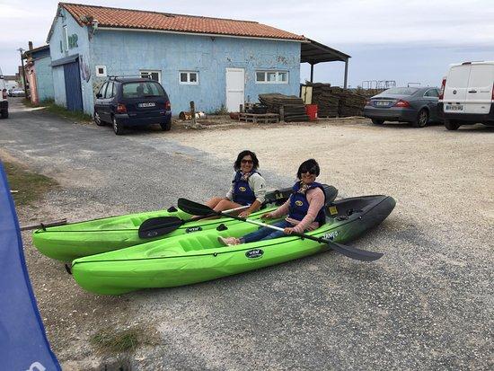 Kayak et Nature: bientôt le départ