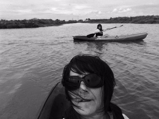 Kayak et Nature: et quelques minutes après notre départ génial