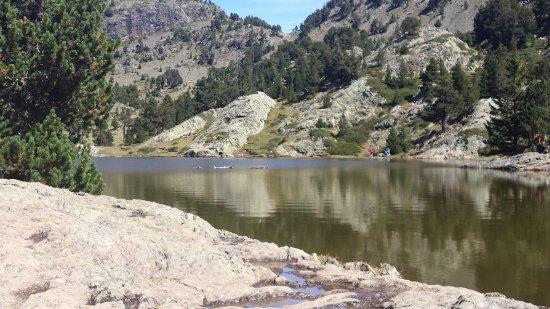 France Aventures Chamrousse : Le lac Achard le 4 septembre 2017