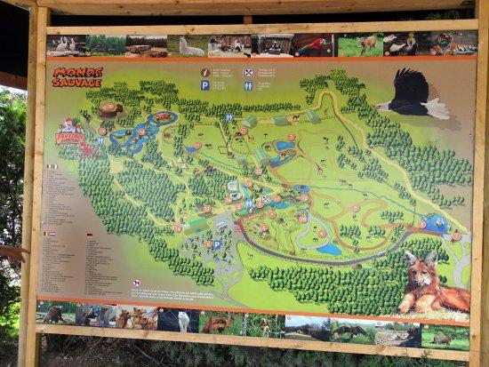 Plan du parc l 39 entr e picture of le monde sauvage - Le monde sauvage meubles ...