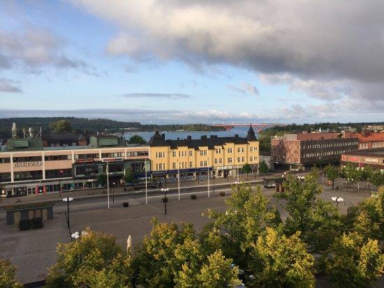 Motala, Sweden: Från översta våningen