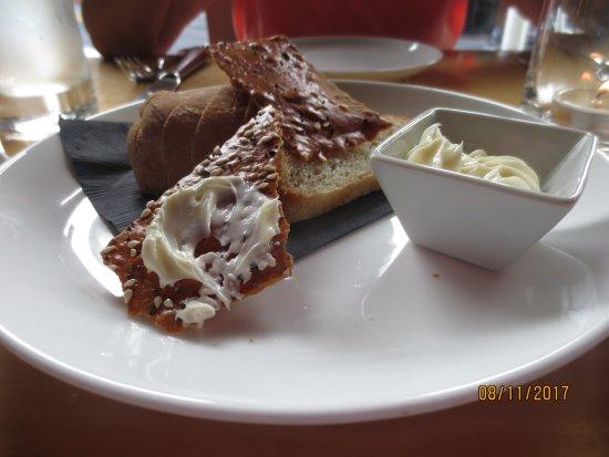 Celilo Restaurant & Bar: bread and butter
