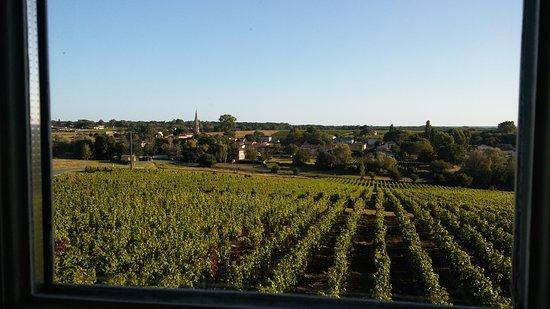 Sauternes, France: Vistas desde la ventana de la suite 10
