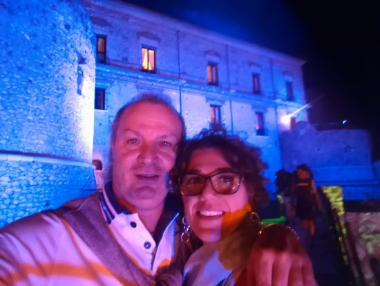 Teggiano, Italie : Castello