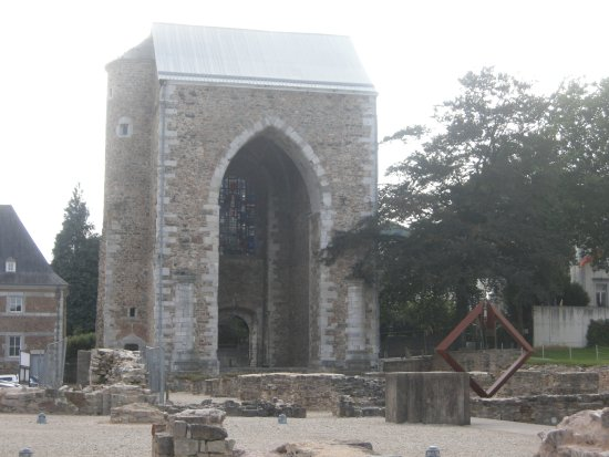 Abbaye de Stavelot : Abtei Außenbereich