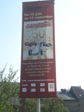 Abbaye de Stavelot : Plakat