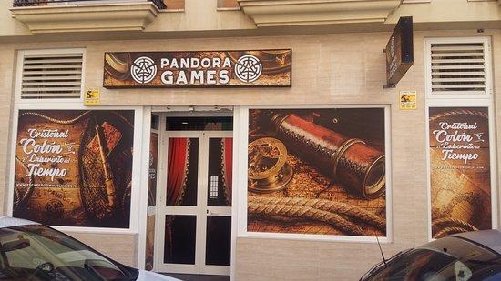Pandora Games Escape Room Huelva