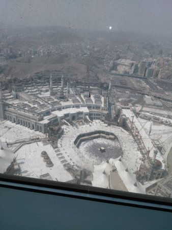 Makkah Clock Royal Tower, A Fairmont Hotel: View of ka'aba from room