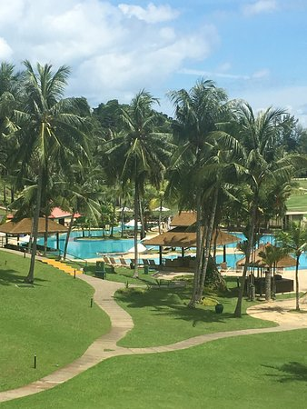 Bintan Lagoon Resort: view from our room