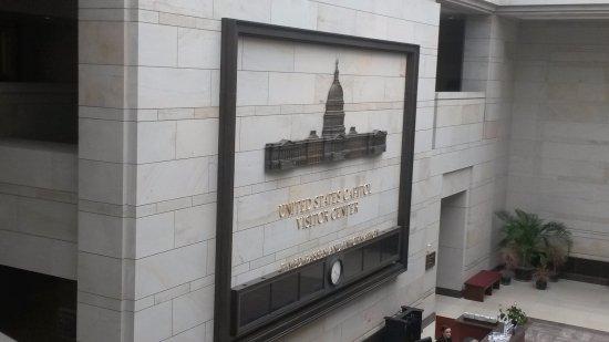 Washington State Capitol: icona del campidoglio dentro la hall all'ingresso