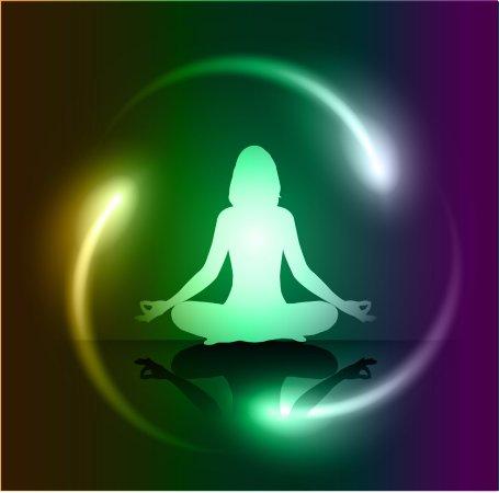 meditational aura