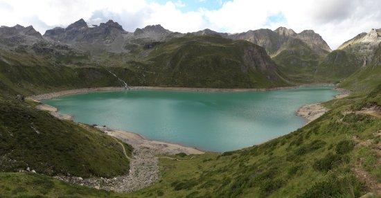 Formazza, Italie : Lago del Vannino