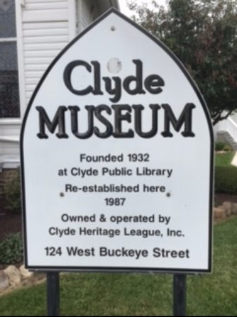 Clyde, OH: Entrance sign