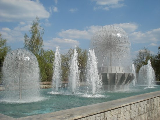 Fountains in Verkhniy Park