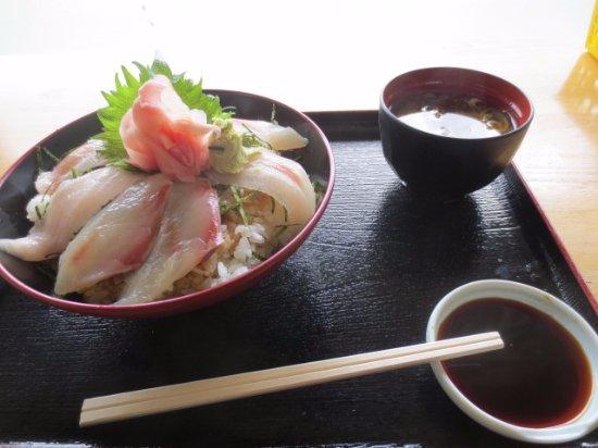 Kihoku-cho, Japan: ヒラマサ丼