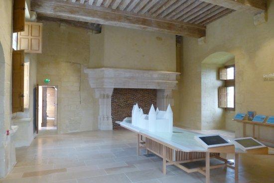 Chateauneuf, Frankreich: Salle Centre d'interprétation