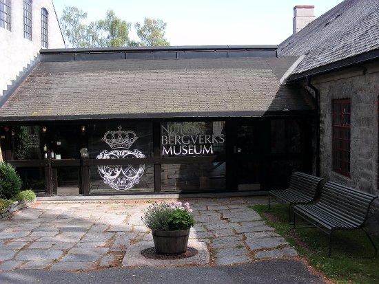 Norsk Bergverksmuseum: Entrée du musée