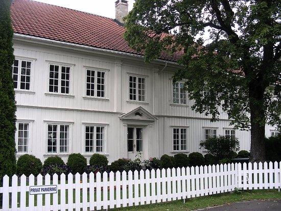 Norsk Bergverksmuseum: Quartier à l'arrière du musée