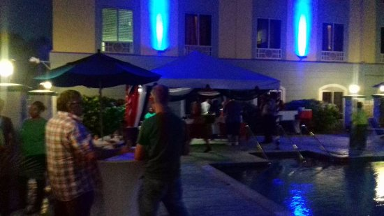 Trincity, Trinidad: Hotel held a Pre-Independence Celebration for its guest, which was beautiful