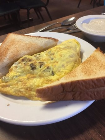 Prince George, Wirginia: Sausage omelette