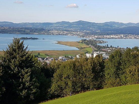 LUEGETEN: Aussicht auf Rapperswil