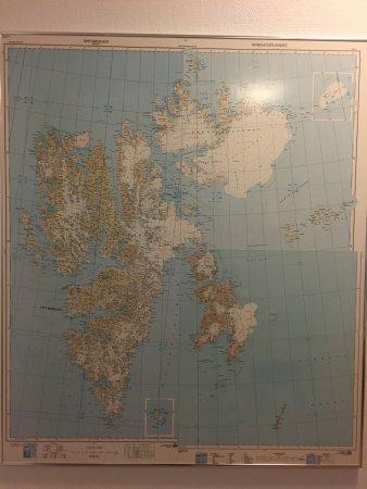 Svalbard Kirke: Svalbard map