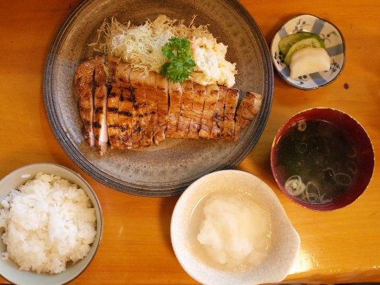 Shiogama, Japonya: 焼肉定食