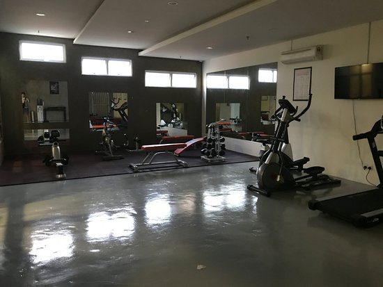 Gym picture of the waterfront hotel kuching tripadvisor