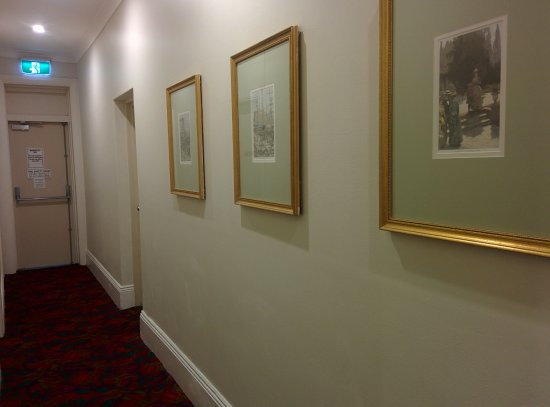 Woolbrokers Hotel: Corridors of the hotel