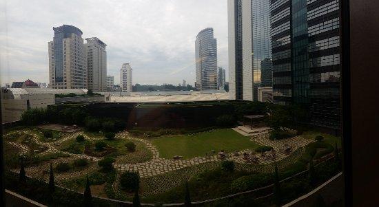 Grand InterContinental Seoul Parnas : Aussicht zur Rückseite