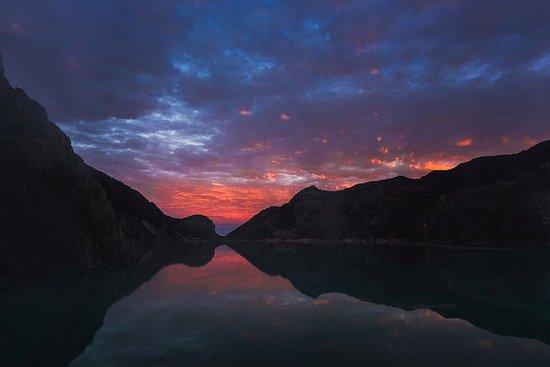 Sunrise under the acid lake  - Picture of Indotravelteam, Denpasar