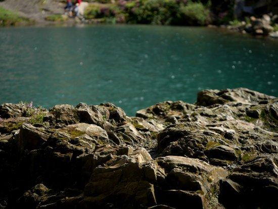 Fairbourne, UK: The Blue Lake