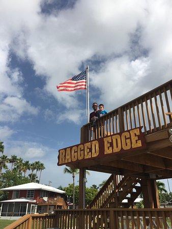 Ragged Edge Resort & Marina: Wonderful time with family!!!