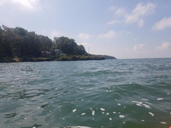 Kayak the Bay: Heading around the island!