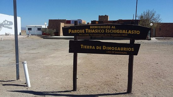 Parque Provincial Ischigualasto: Ingreso al parque Ischigualasto :)