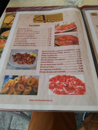 Restaurante cerveceria arcos en illescas - Restaurantes en illescas toledo ...
