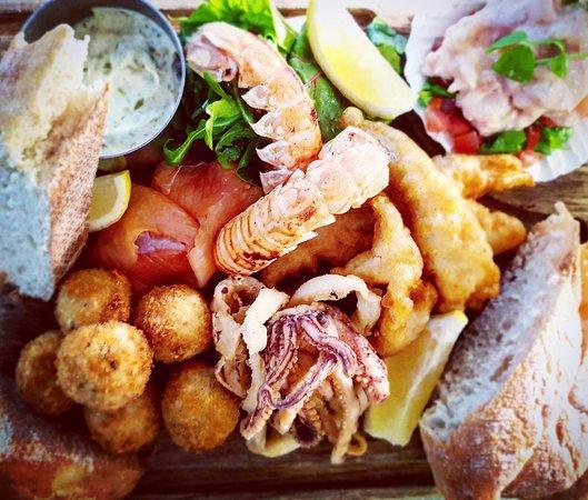 Balmedie, UK: Seafood Platter