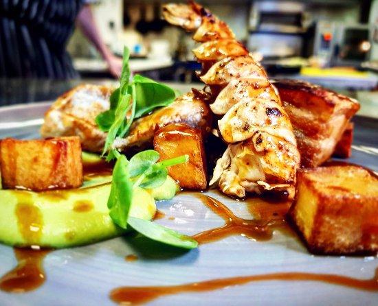 Balmedie, UK: Pork and Langoustine