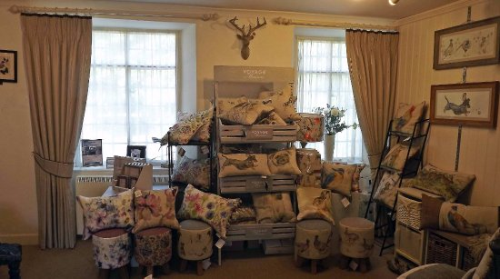 Soft Furnishings Room Shop Second Floor Picture Of Bickleigh Mill