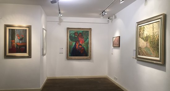 Engel Gallery : exhibition view from a group exhibition featuring Israeli artists from all periods (2016)