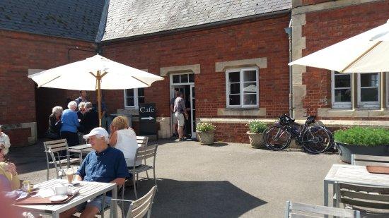 Burton Agnes, UK: t' Cafe