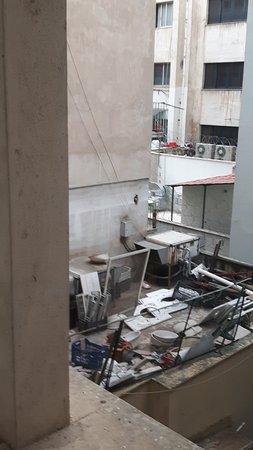 Achillion Hotel: La vue de ma chambre d'hôtel !